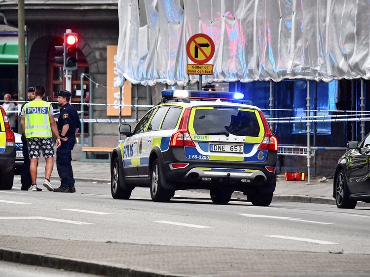 One dead and four wounded in Sweden shooting