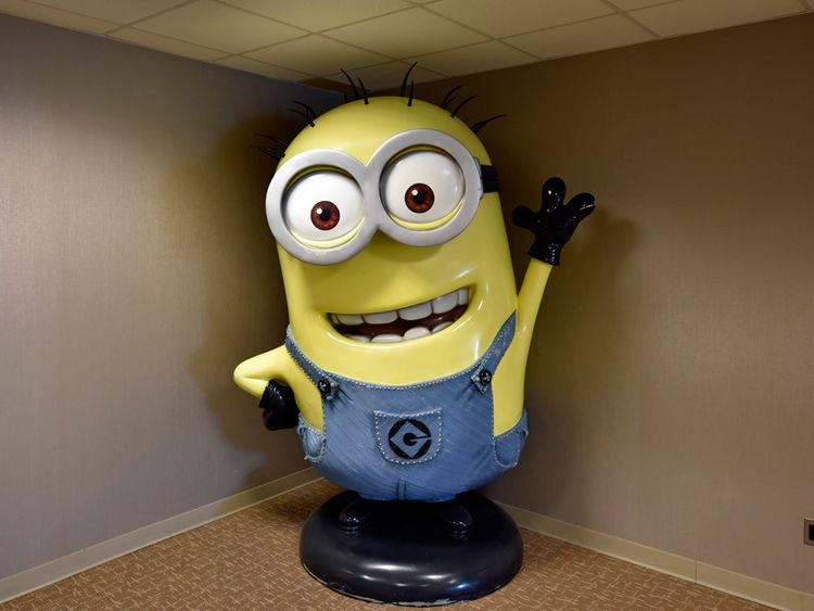 Also for sale is this massive Minion figure. Pic: Toys R Us
