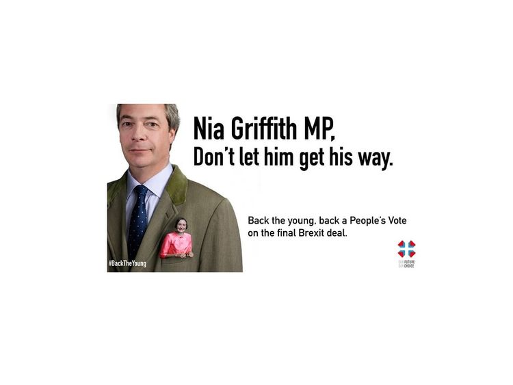 Poster from OFOC encouraging Labour MPs to back Brexit
