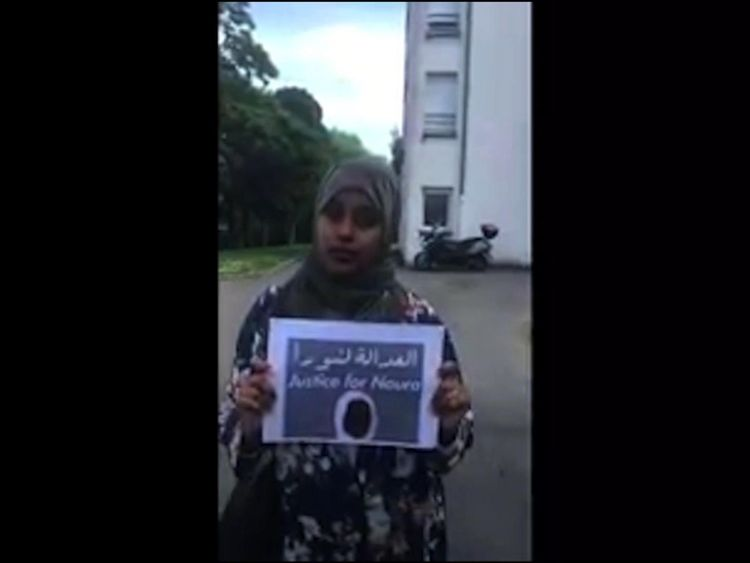 A justice for Noura campaign has attracted broad support