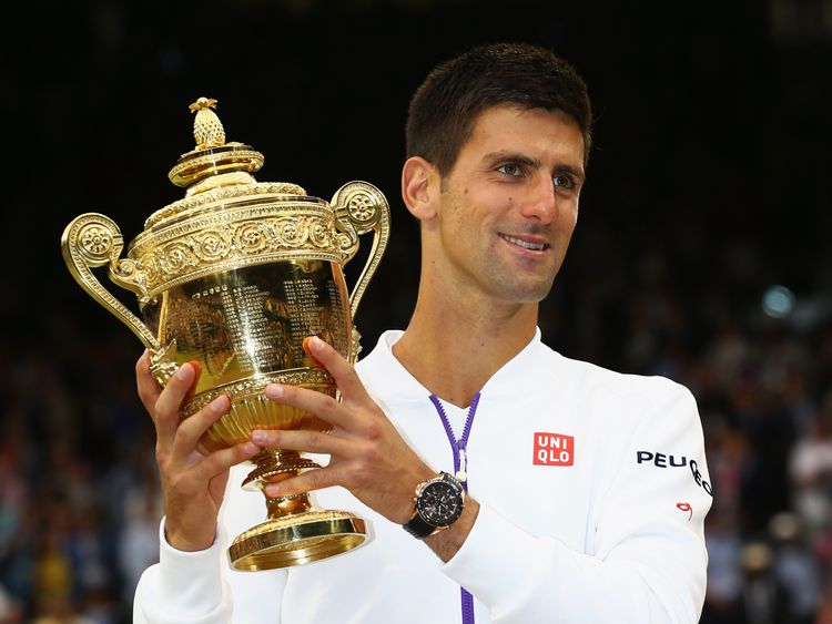 Novak Djokovic wins Wimbledon in 2015