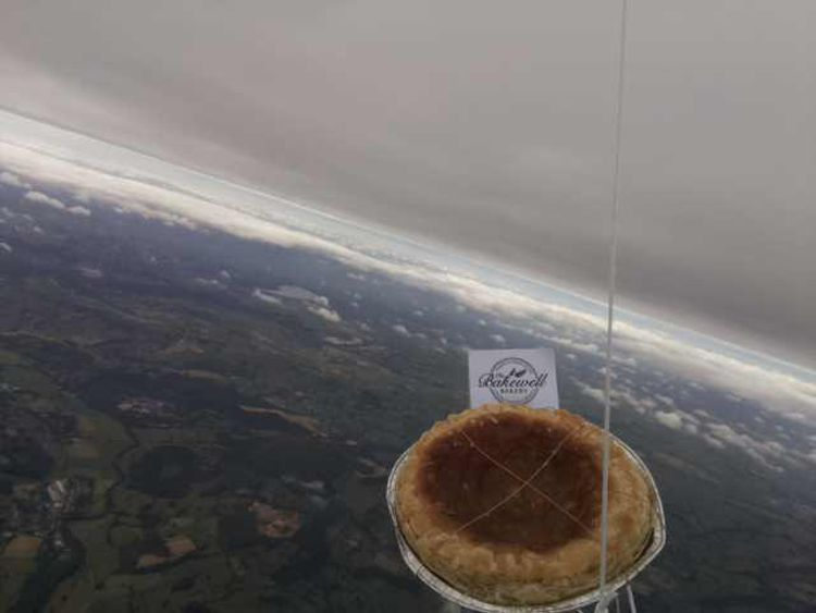 The pudding is known to have entered Lincolnshire airspace at some point