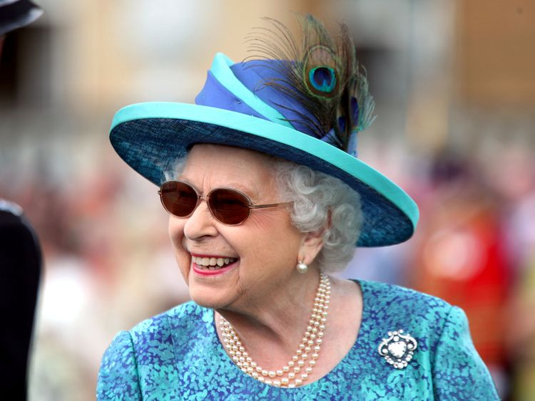 Britain's Queen Elizabeth, 92, had eye surgery last month