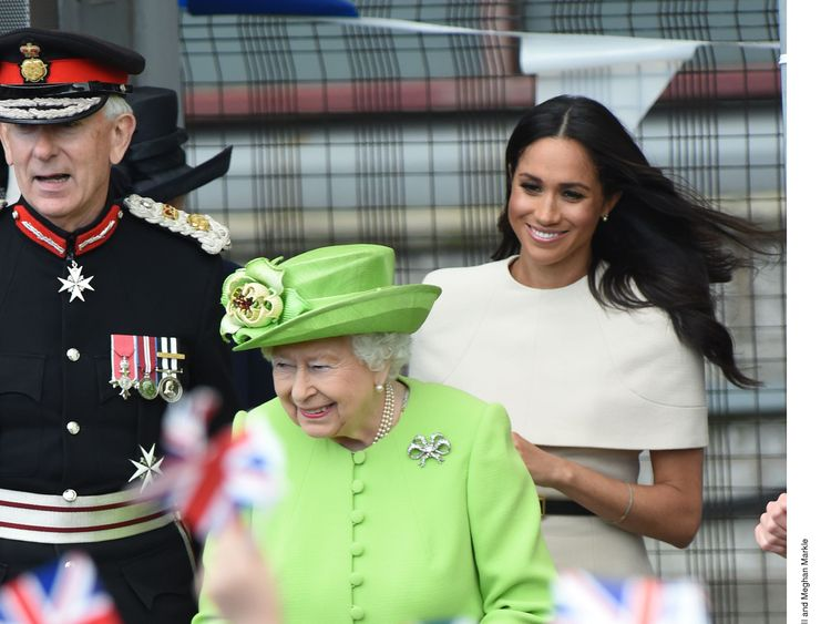 Queen Elizabeth and Meghan, Duchess of Sussex