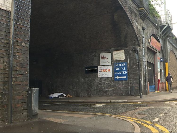 Network Rail is selling all its railway arches in England and Wales