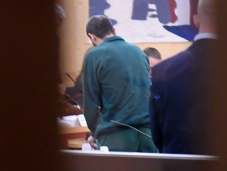 Rakhmat Akilov in court earlier this year