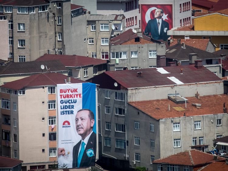 Erdogan claims victory in Turkish election - but opponent disputes, claims manipulation