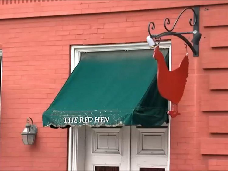 Sarah Huckabee Sanders was asked to leave The Red Hen in Lexington, Virginia