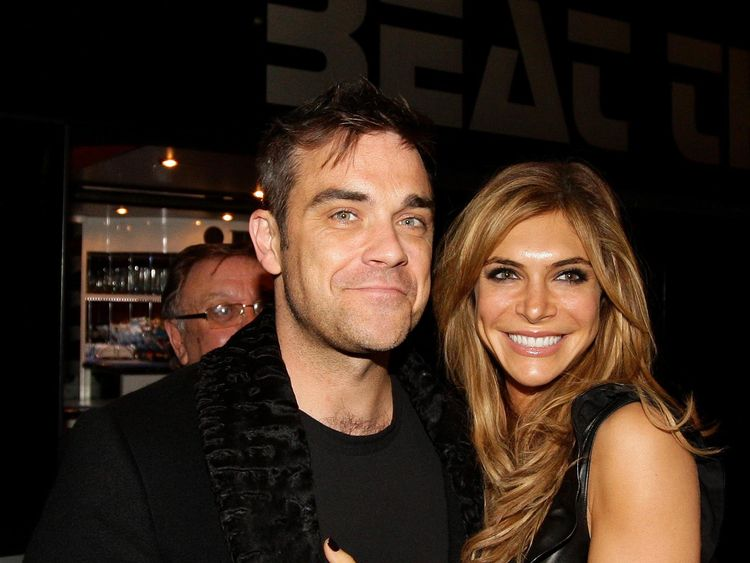 Robbie Williams and Ayda Field have baby via surrogate