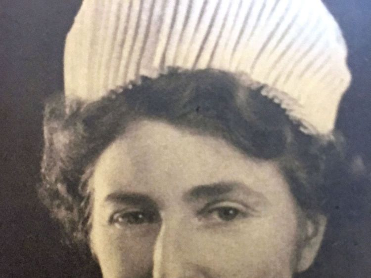 Undated photo issued by the Royal British Legion of Rosemary Powell in her nurse's uniform
