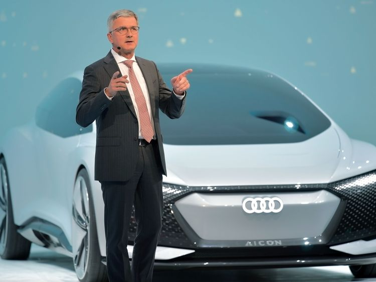 Germany slaps Audi with 800M euro fine for diesel misdeeds