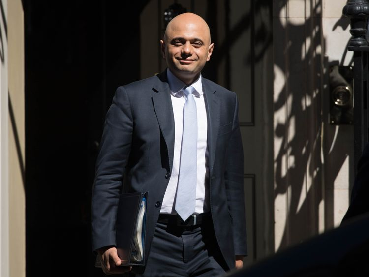 Sajid Javid: My phone was stolen by moped thieves