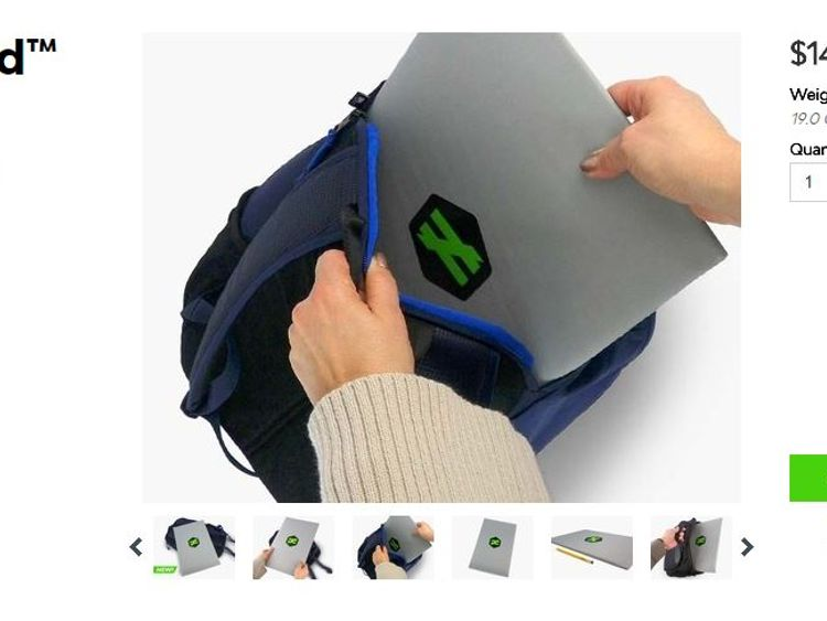 Students in Chadds Ford, Pennsylvania, have been given bulletproof shields to protect themselves from school shootings. Pic: Unequal Technologies