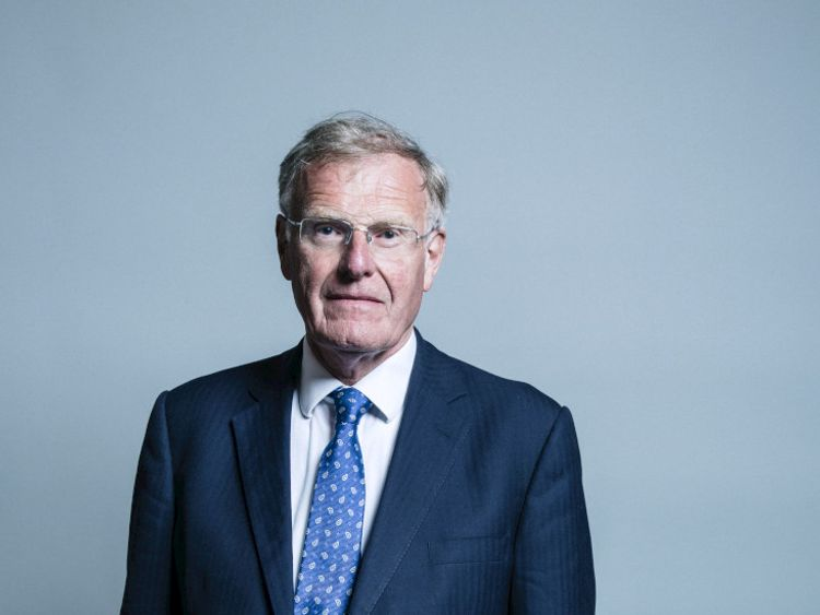 Tory MP Sir Christopher Chope