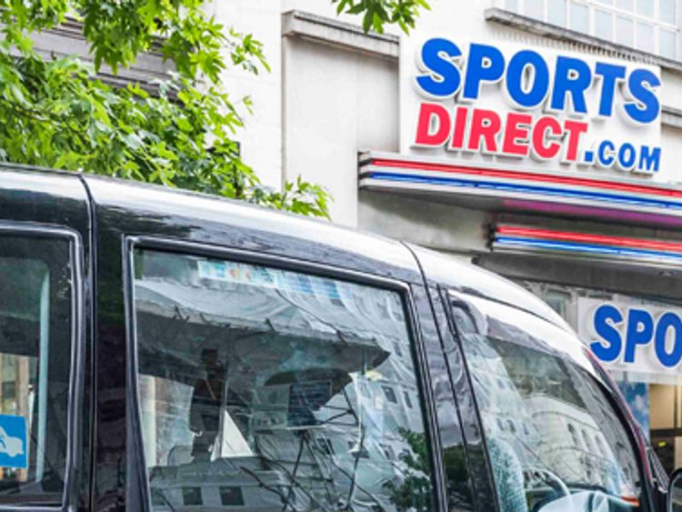 Shares in Debenhams dive as Sports Direct rules out offer