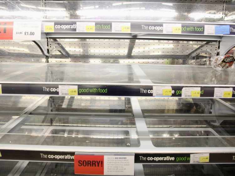 Will our supermarket shelves be empty?
