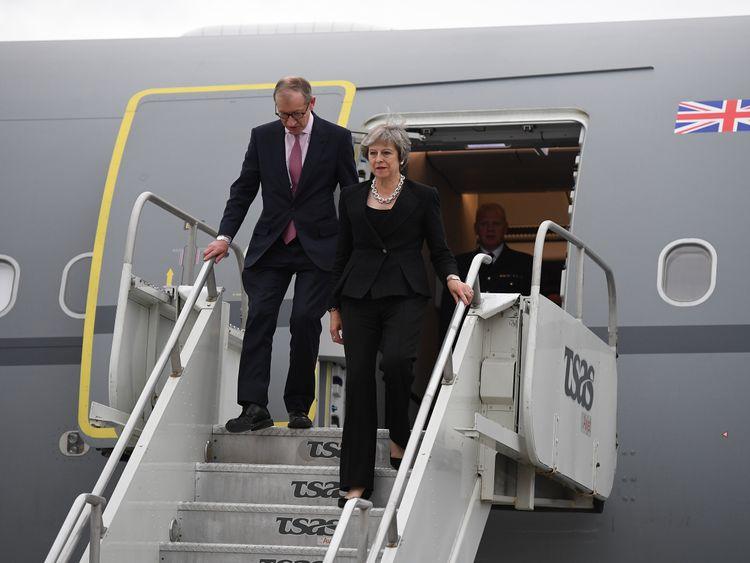 Theresa May dismisses leaked Boris recordings