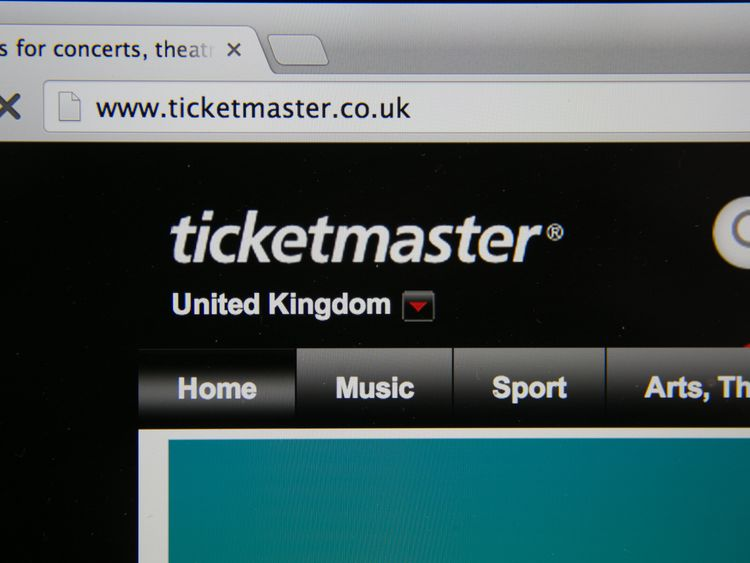 Ticketmaster shuts resale websites over inflated prices