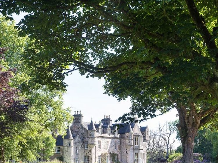 Wardhill Castle in Aberdeenshire dates back to the 12th century. Pic: WardhillCastle.co.uk