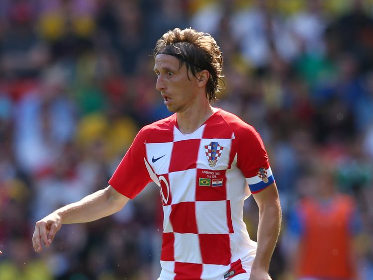 Croatia's midfield general, Luka Modric