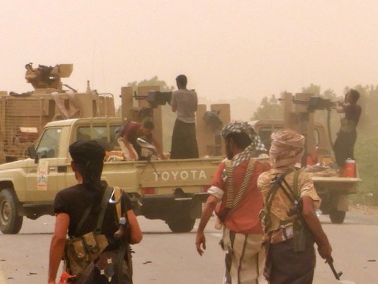 Government troops 'capture Yemeni airport'