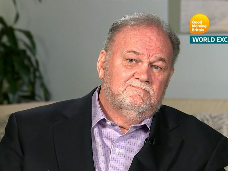 Thomas Markle train's to ITV's Apt Morning Britain