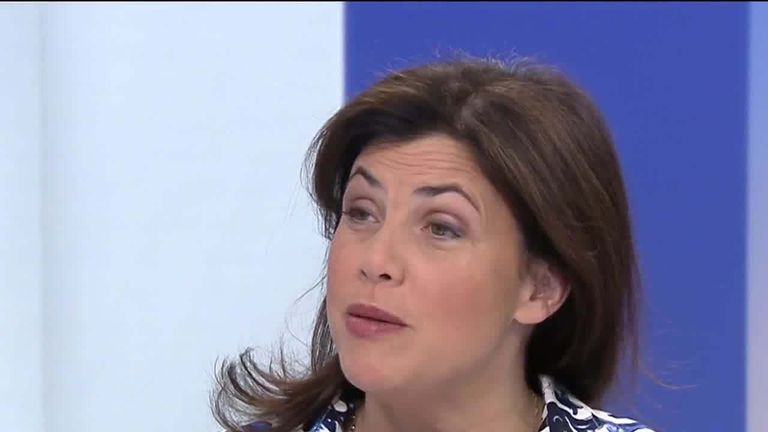 TV presenter Kirstie Allsopp speaks to Sky News