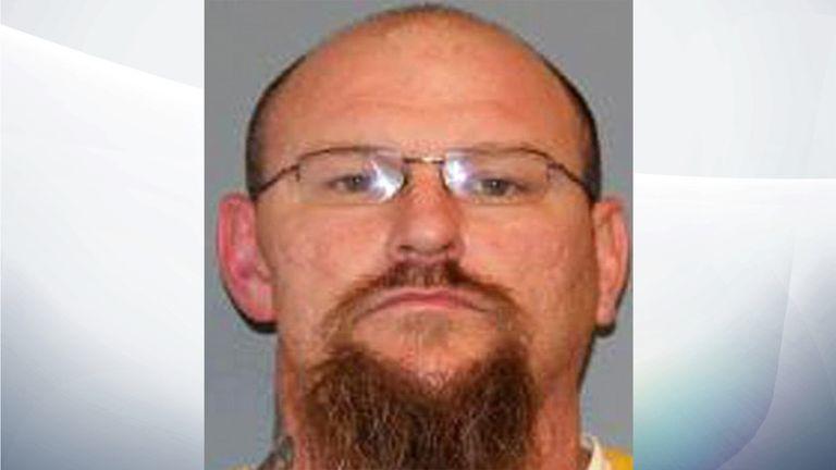 Colorado inmate James Rynerson. Pic: Mesa County Jail