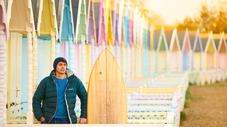 As a surfer Adam Root is very aware of the damage plastic is doing to the oceans