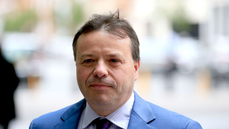 Arron Banks founded the Leave.EU campaign group
