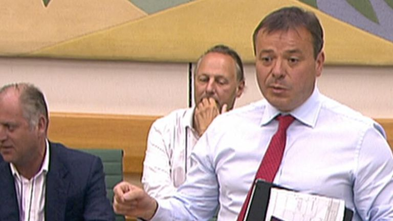 Arron Banks won't answer any more MPs' questions because he's late for lunch