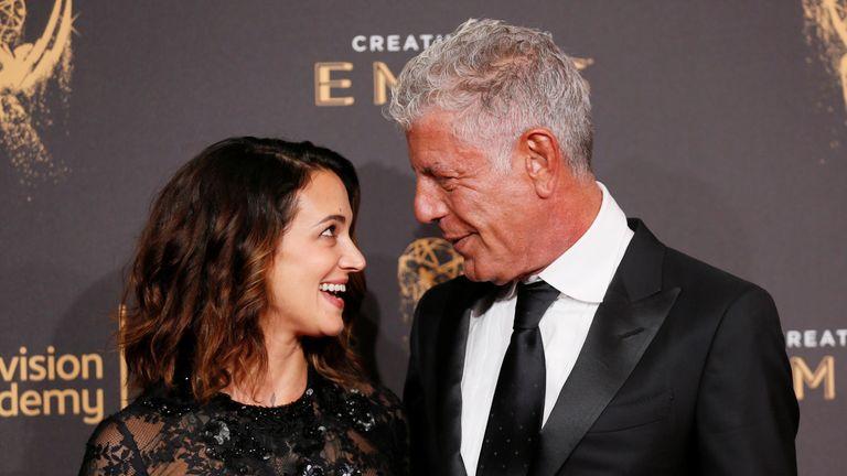 Bourdain's partner Asia Argento says she is 'beyond devastated'