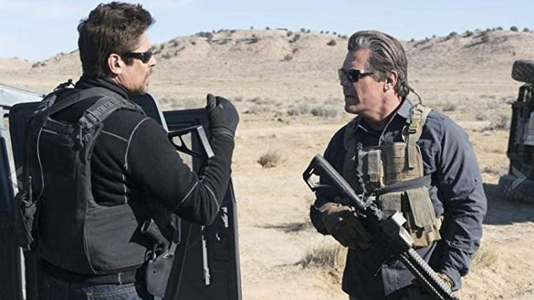 Brolin and Del Torro face a moral dilemma during their covert operation