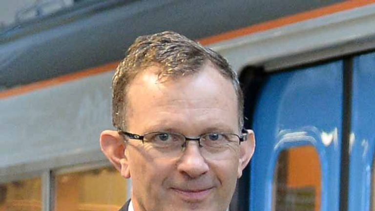 File photo dated 15/9/2014 of Charles Horton, chief executive of Govia Thameslink Railway, who is to resign, the company announced.