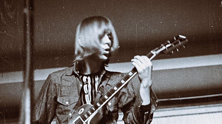 Danny Kirwan pictured in 1970. Pic: WW Thaler - H Weber, Hildesheim