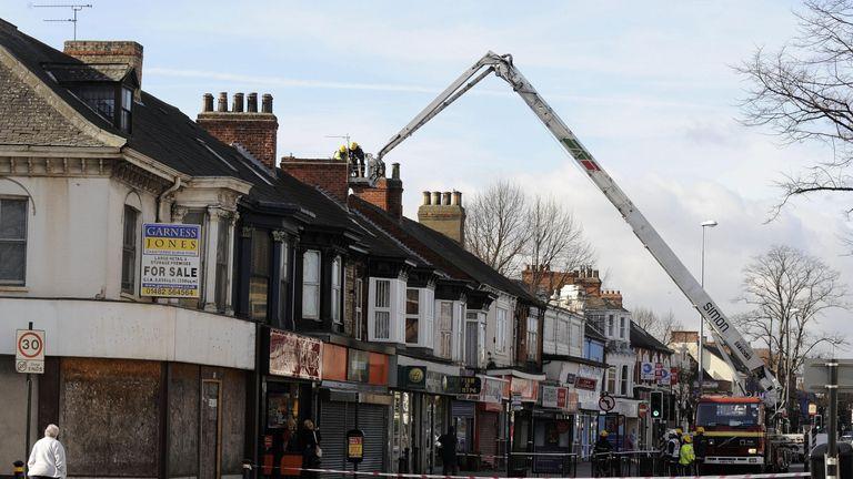 Earthquake in Hull