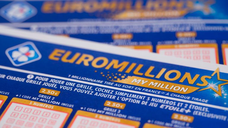 British Ticket Holder Wins 76m On Euromillions Lottery Uk News