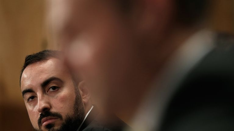 Alex Stamos stressed Facebook wanted to defend democracy and open societies