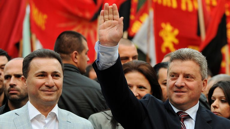 The Macedonian president Gjorge Ivanov is refusing to sign the agreement