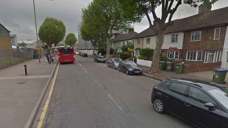The woman was found in Tunnel Avenue in Greenwich