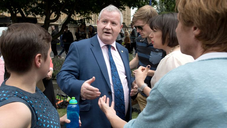 Ian Blackford walked out of the Commons