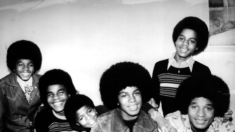 The Jackson Five were one of the biggest pop bands of all time
