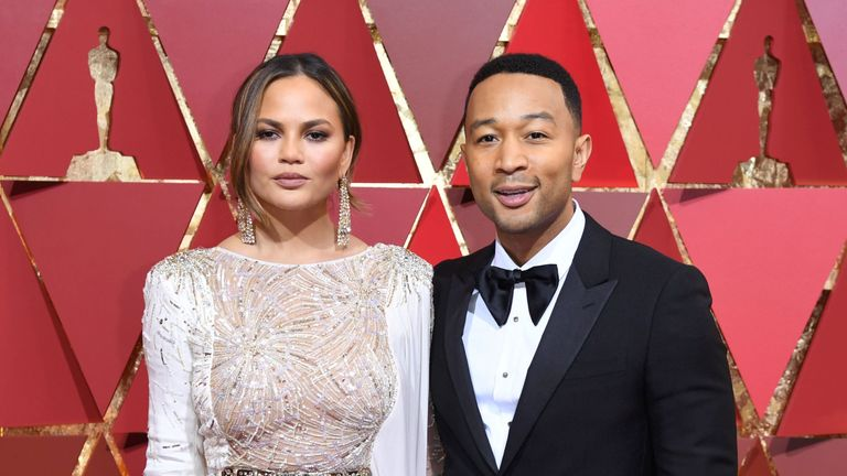 John Legend and his wife Chrissy Teigen have been fierce critics of the policy