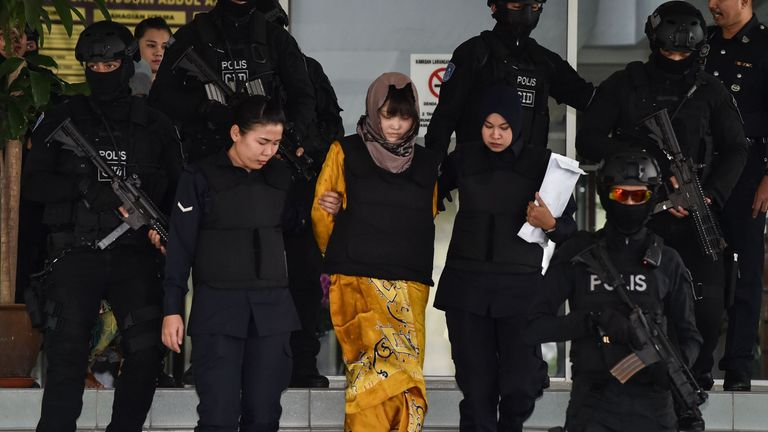 Second suspect released after Kim Jong Nam killing