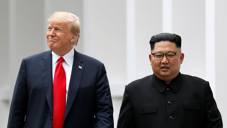 Donald Trump and Kim Jong Un met in Singapore