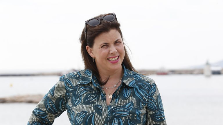 British TV presenter Kirstie Allsopp