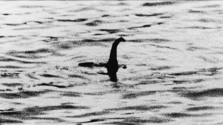 Search for evidence of the Loch Ness Monster