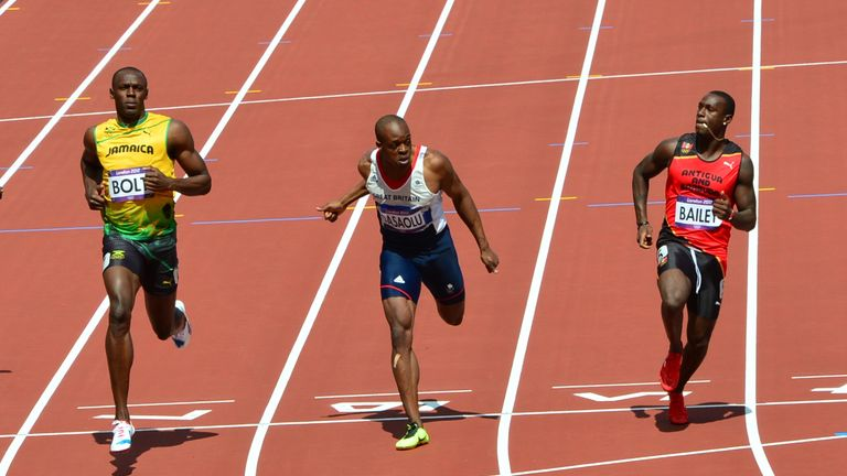3549130b2ee He wore the same style of shoes in his 100m heats in London 2012