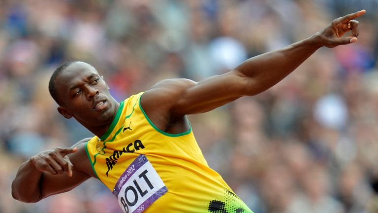 A pair of Usain Bolt's shoes have been stolen in a burglary