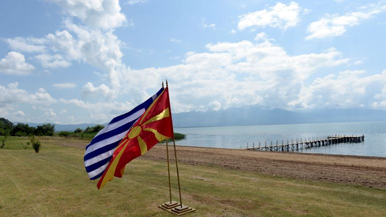 The dispute over Macedonia goes back to 1991